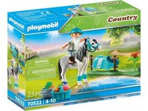 PLAYMOBIL 70522 Waleský poník