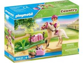 PLAYMOBIL 70521 Německý jezdecký poník