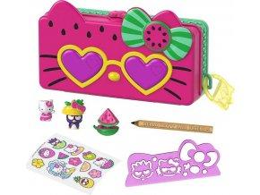 Hello Kitty Penál hrací set Pláž