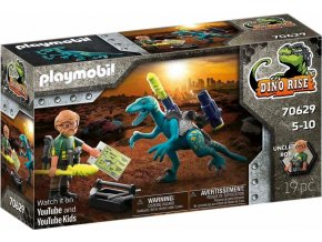 Playmobil 70629 Uncle Rob Výzbroj do boje