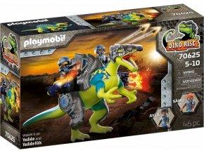 Playmobil 70625 Spinosaurus: Dvojitá obranná síla