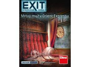 Úniková hra: Mrtvý muž v Orient Expresu párty hra