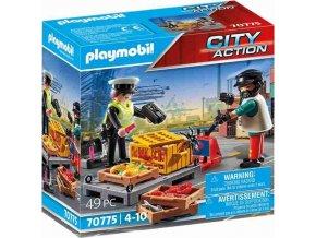 PLAYMOBIL 70775 Celní kontrola