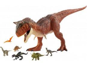 Jurský svět: Křídový kemp Carnotaurus Toro Super Colossal 91 cm