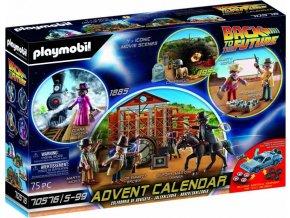 PLAYMOBIL 70576 Adventní kalendář Back to the Future III