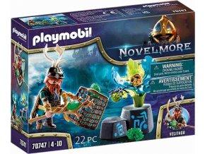 PLAYMOBIL 70747 Novelmore violet Vale Čaroděj rostlin