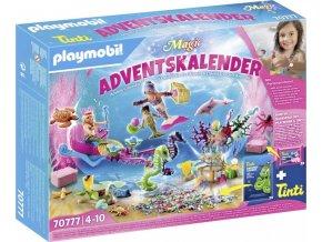 PLAYMOBIL 70777 Adventní kalendář Zábava ve vodě - Mořské panny
