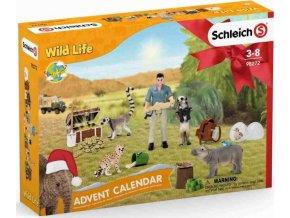 Schleich 98272 Adventní kalendář Africká zvířata 2021