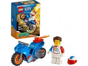 LEGO® City 60298 Kaskadérská motorka s raketovým pohonem
