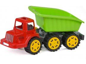 Dětské nákladní sklápěcí auto BAYO Chuck 49 cm mix barev