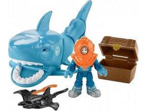 Fisher Price Imaginext Žralok a potopený poklad