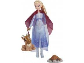 Ledové království 2 panenka Elsa a přátelé u táboráku