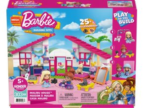 Mega Construx Barbie dům snů Dreamhouse