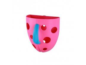 Box na hračky do vane - růžová