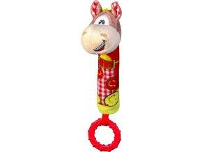 Hračka cri-cri s kousátkem kůň 6m+