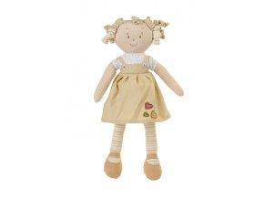 Hračka panenka Lilly žlutá 37cm, 0m+
