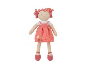 Hračka panenka Lilly oranžová 37cm, 0m+