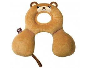 Nákrčník s opěrkou hlavy 0-12 m - medvěd