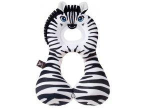 Nákrčník s opěrkou hlavy 1-4 roky - zebra
