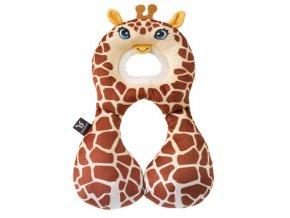 Nákrčník s opěrkou hlavy 1-4 roky - žirafa
