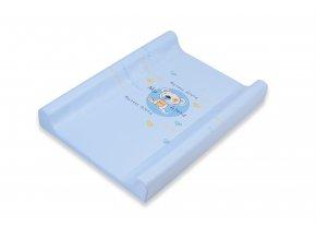Matrace přebal. DINO M 70, měkká, modrý medvěd, 138