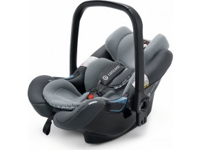 Autosedačka Air.Safe + Clip Steel Grey 0-13kg 2017