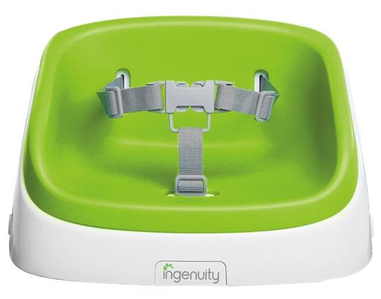 Ingenuity Podsedák na jídelní židličku SmartClean - Lime 2r+, do 22 kg