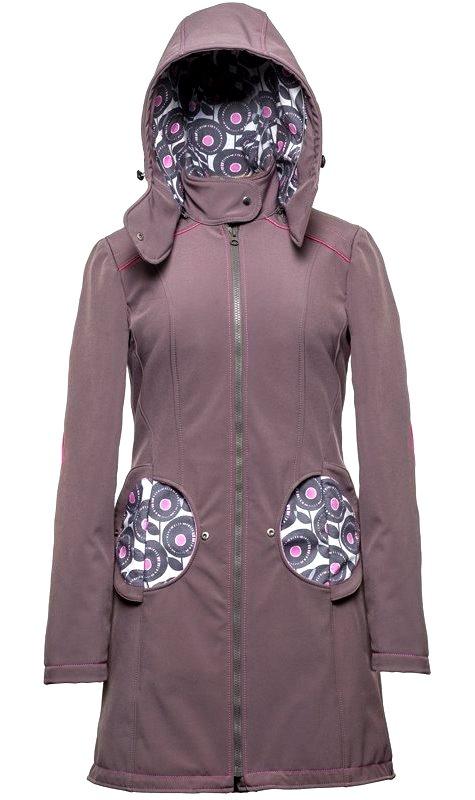 Liliputi kabát na nošení dětí Pivoňka šedý Velikost: 44