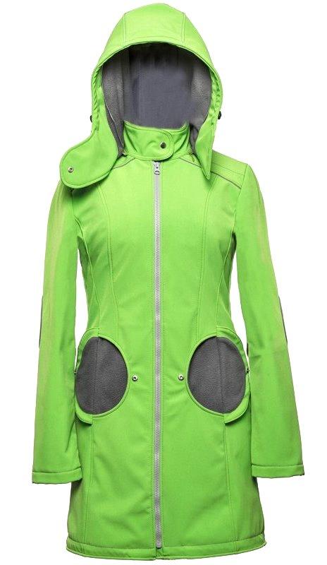 Liliputi kabát na nošení dětí zelený Velikost: EUR 40 Doprava zdarma