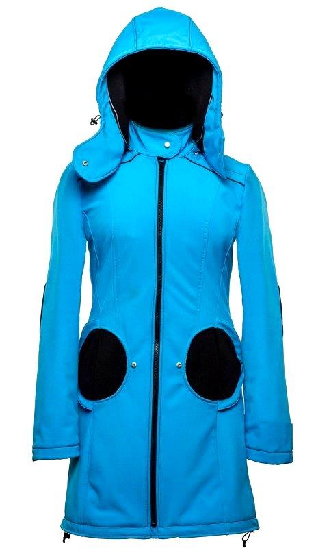 Liliputi kabát na nošení dětí modrý Velikost: 44