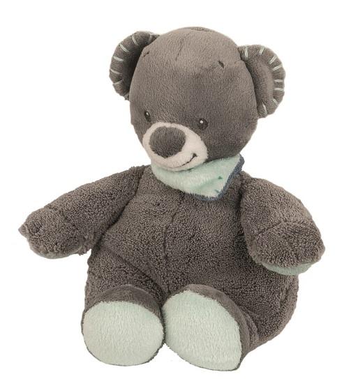 Nattou Hračka plyšová chrastící medvídek Jules 18cm JJN