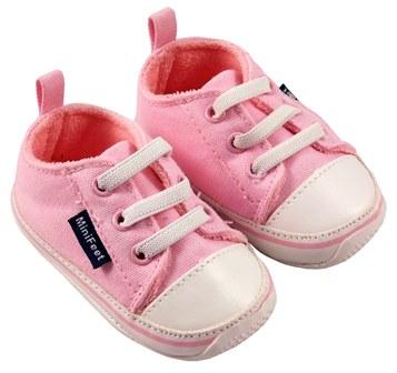 MiniFeet dětské tenisky růžové Velikost: EUR 19