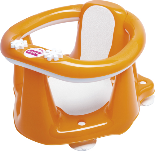 OK Baby Sedadlo do vane Flipper Evolution oranžová