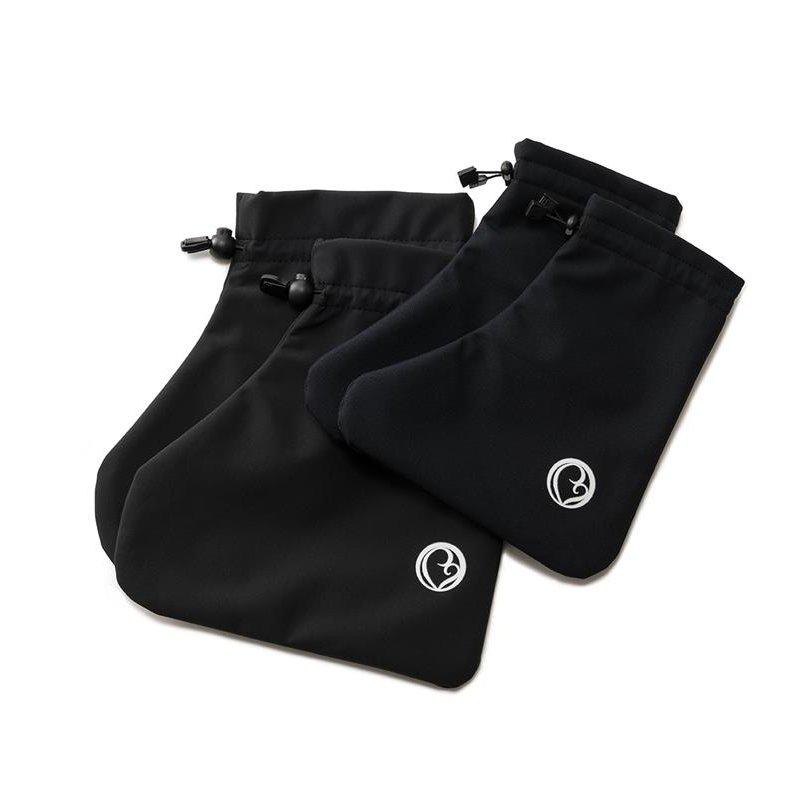 Mamalila softshell návleky na dětské boty černé Velikost: 38