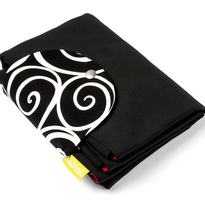 Liliputi přebalovací podložka Elegance černá