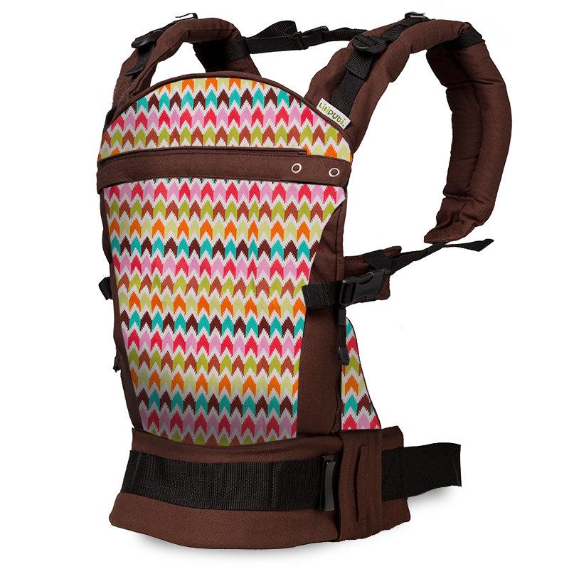 Liliputi ergonomické nosítko Maya hnědé