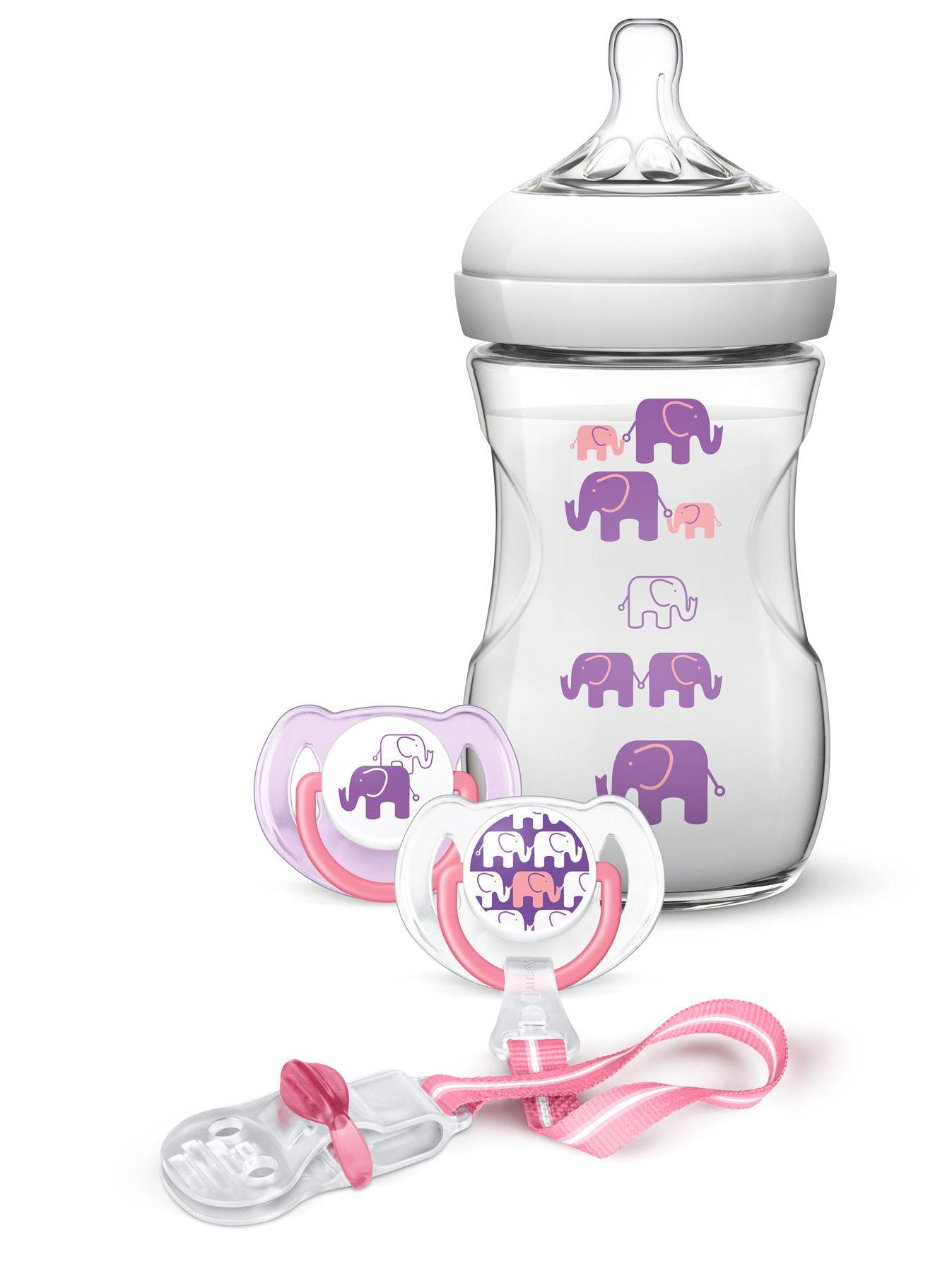Philips AVENT Sada Natural 260 ml Slon dívka