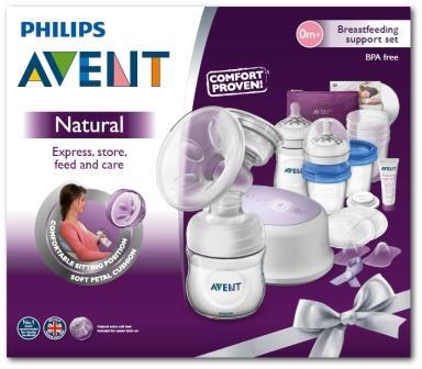 Philips AVENT Sada pro kojení s ods. elekt. Natural