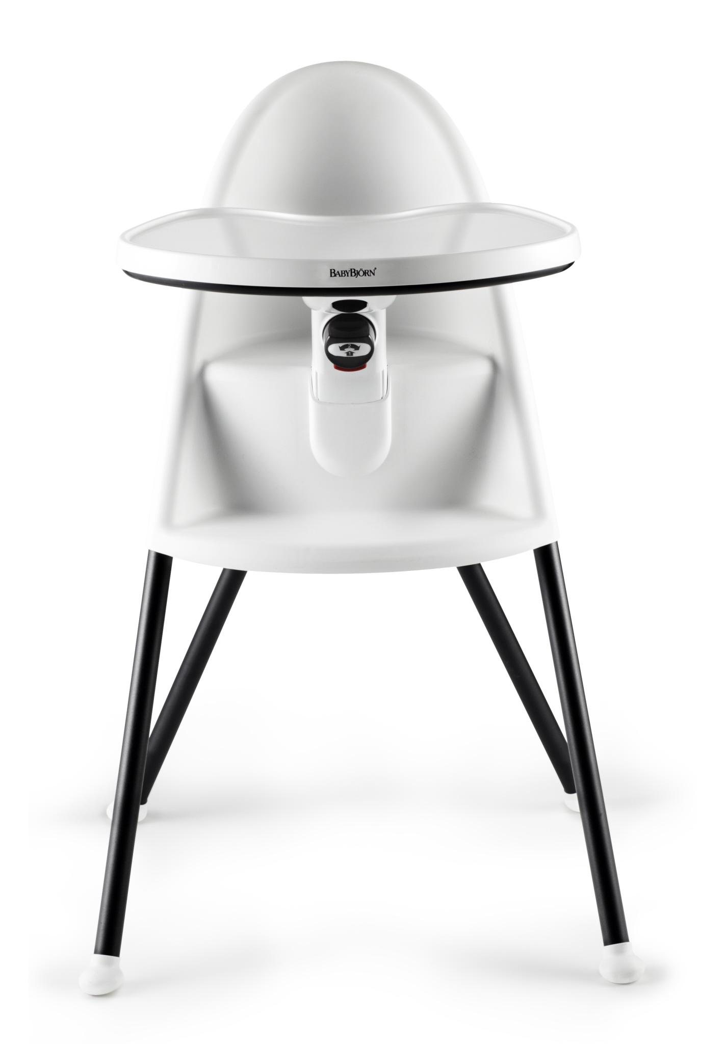 Židle vysoká BabyBjörn s pultíkem bílá Doprava zdarma