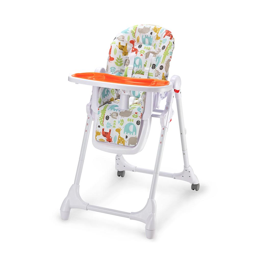 Židlička jídelní Zola oranžová Petite&Mars