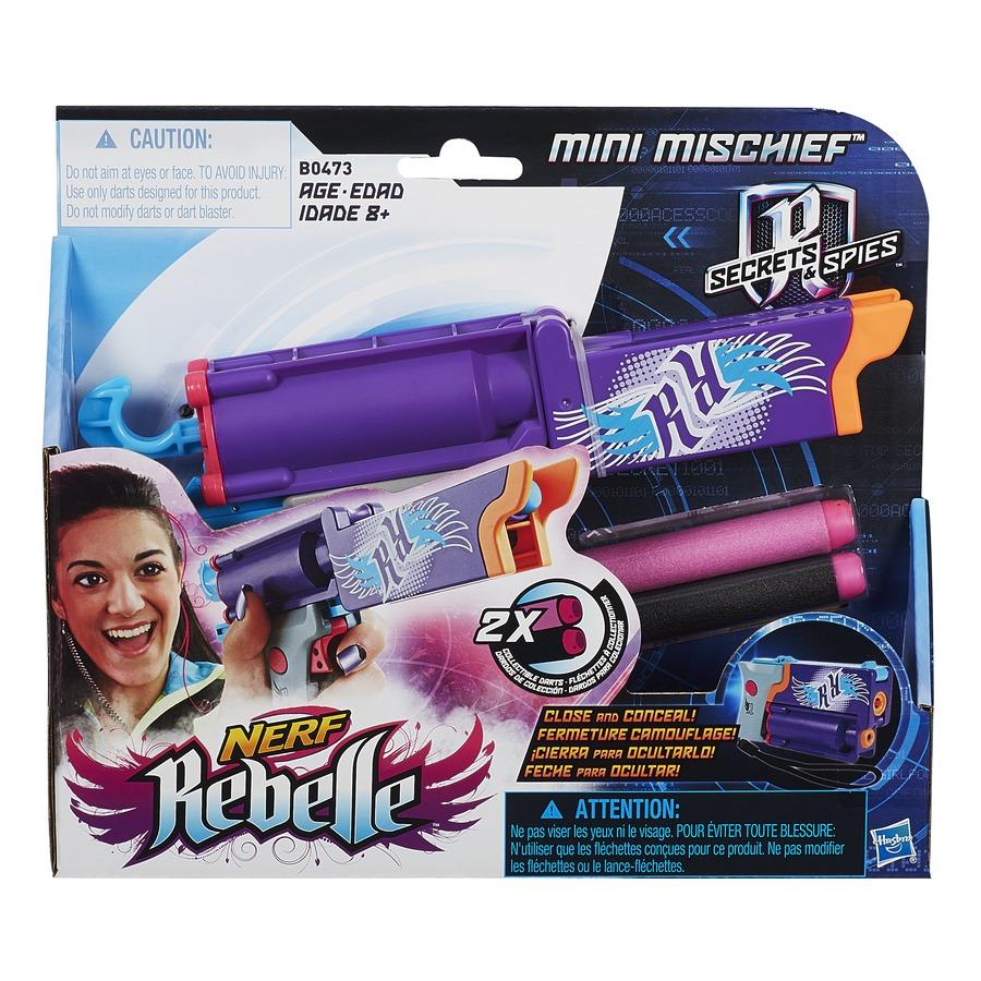 NERF Rebelle složitelná špiónská pistole