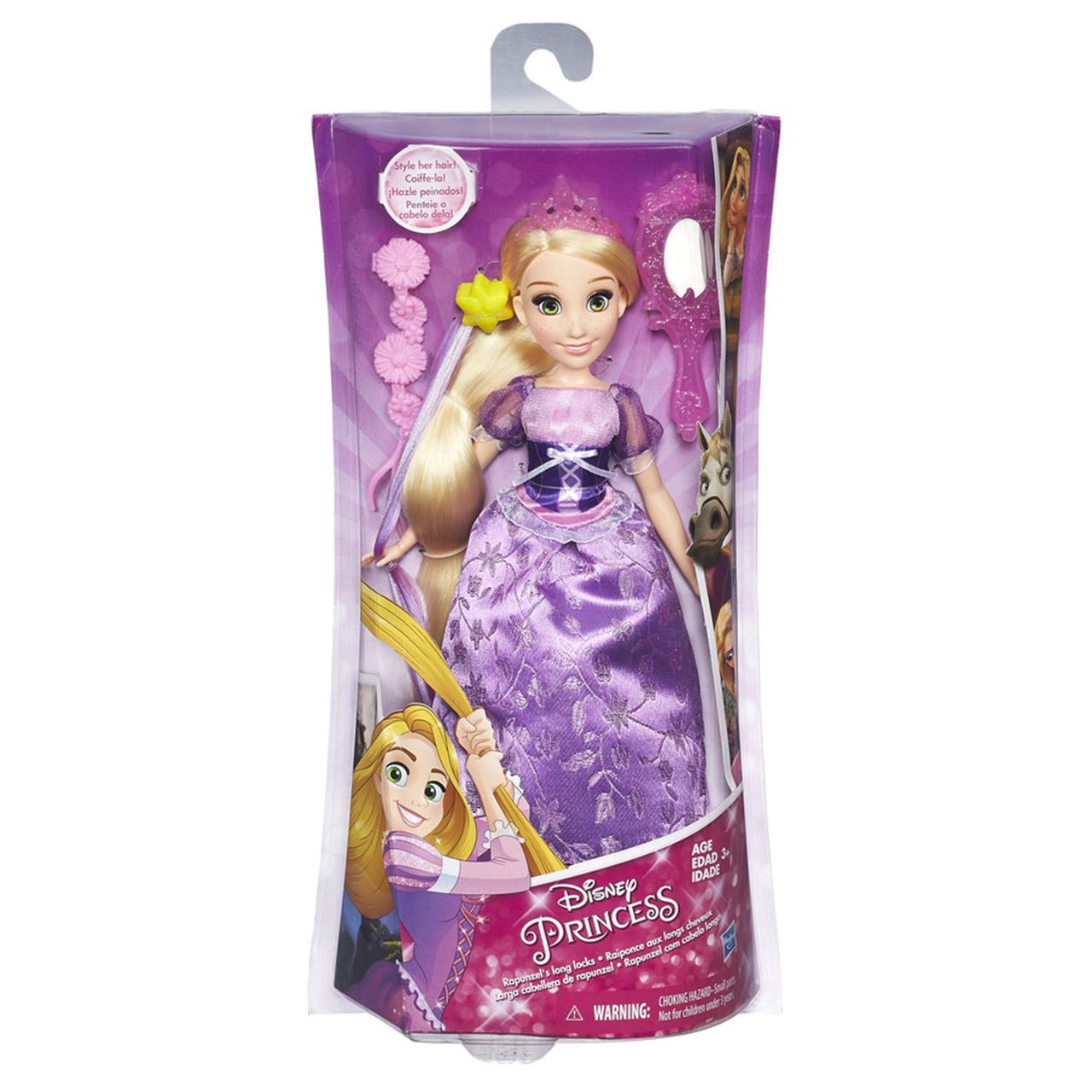 Disney Princess panenka s vlasovými doplňky Popelka