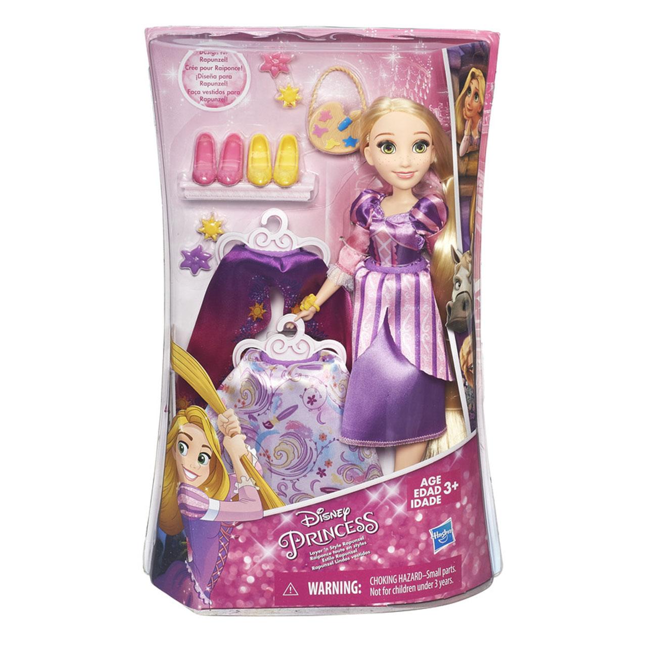 Disney Princess panenka s náhradními šaty Locika