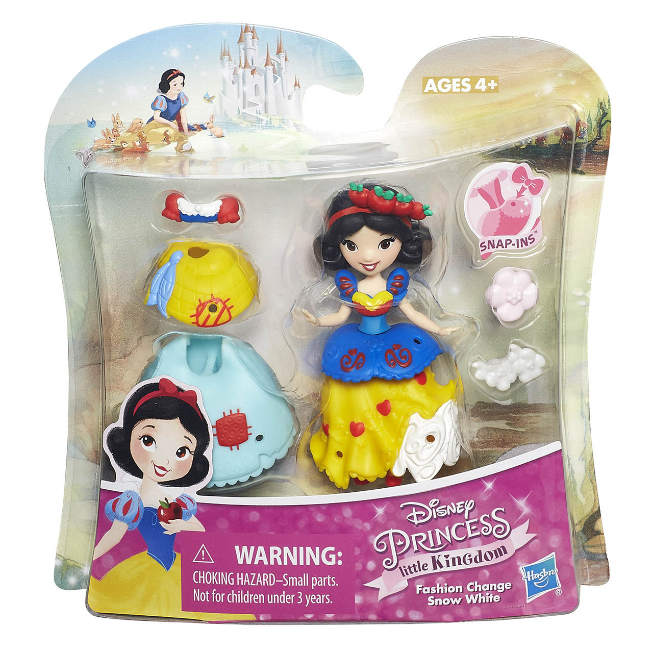 Disney Princess mini panenka s doplňky MIX