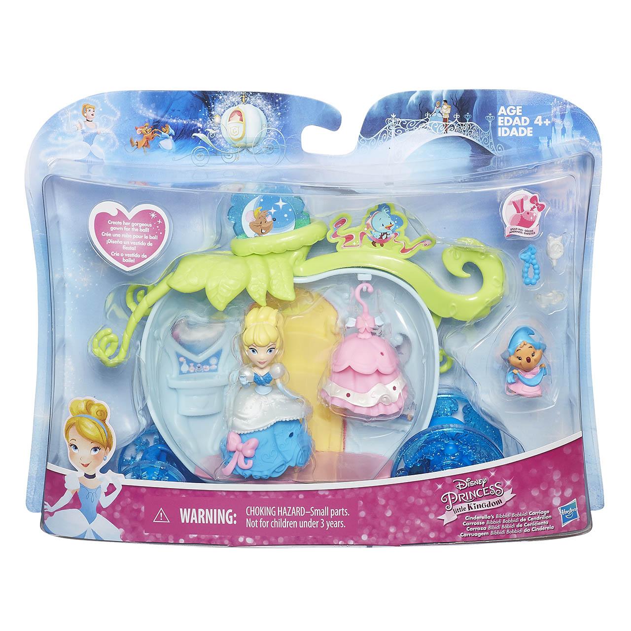Disney Princess mini hrací set s panenkou Bella