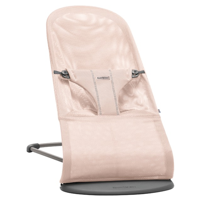 Lehátko BabyBjörn Balance Soft Bliss Powder Pink Mesh