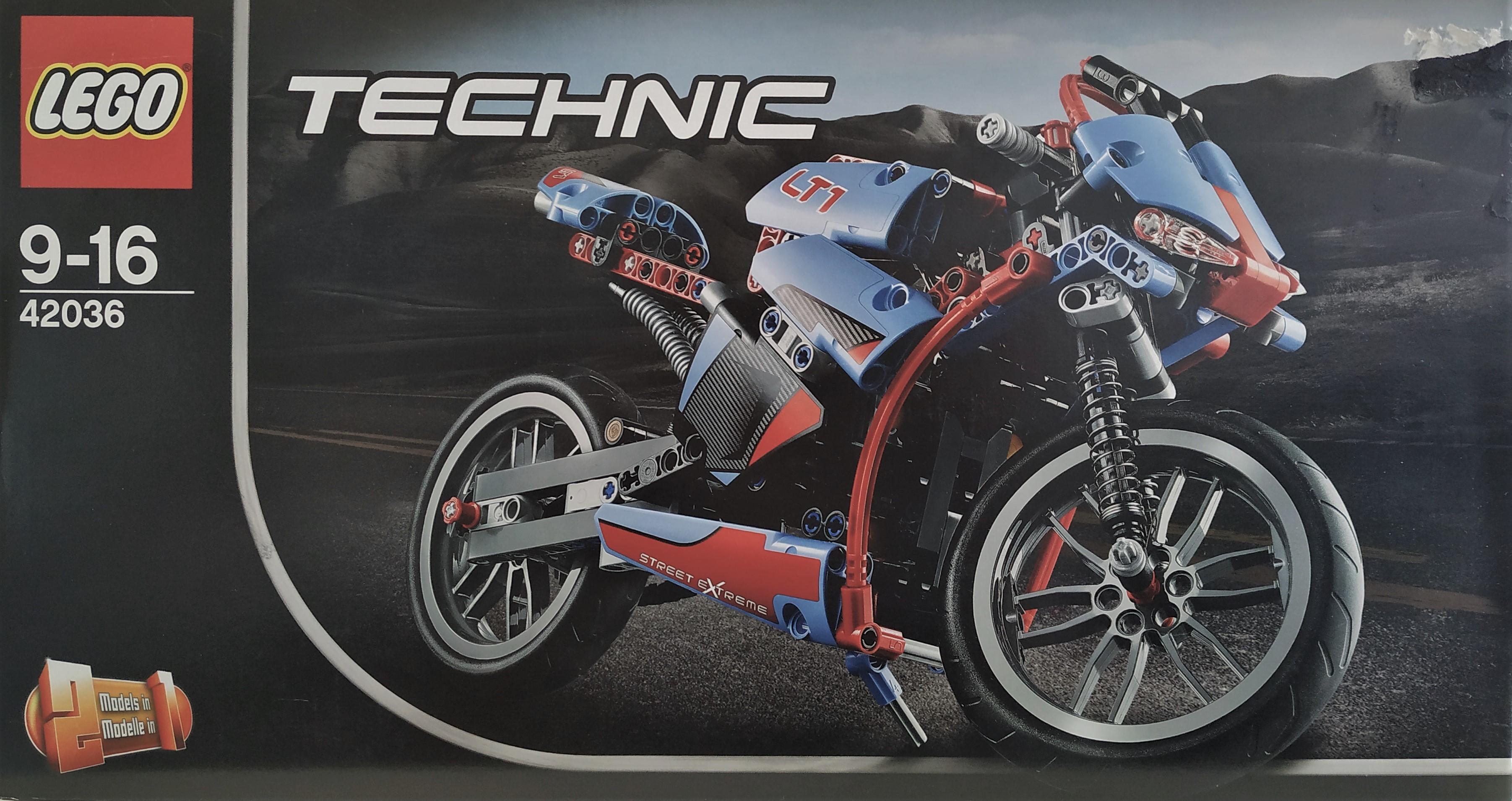 LEGO Technic 42036 Silniční motorka Doprava zdarma Akční cena