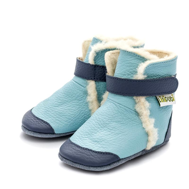 Liliputi zimní capáčky Eskimo modré Velikost: EUR 17