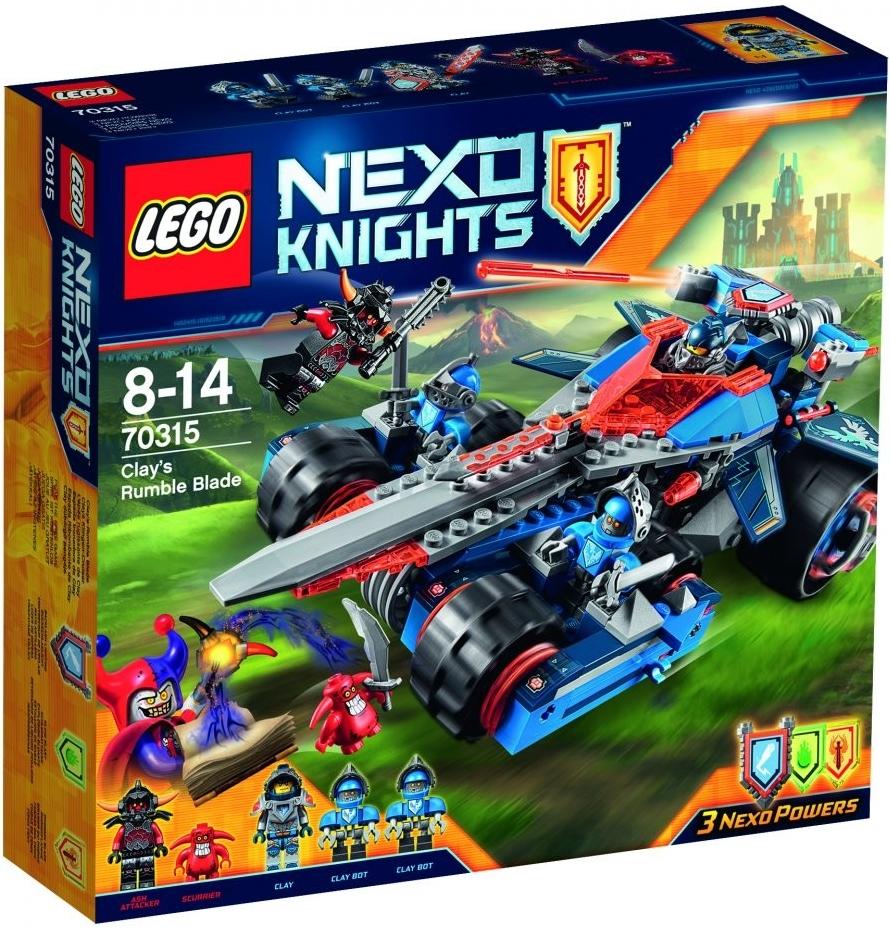 LEGO Nexo Knights 70315 Clayova burácející čepel