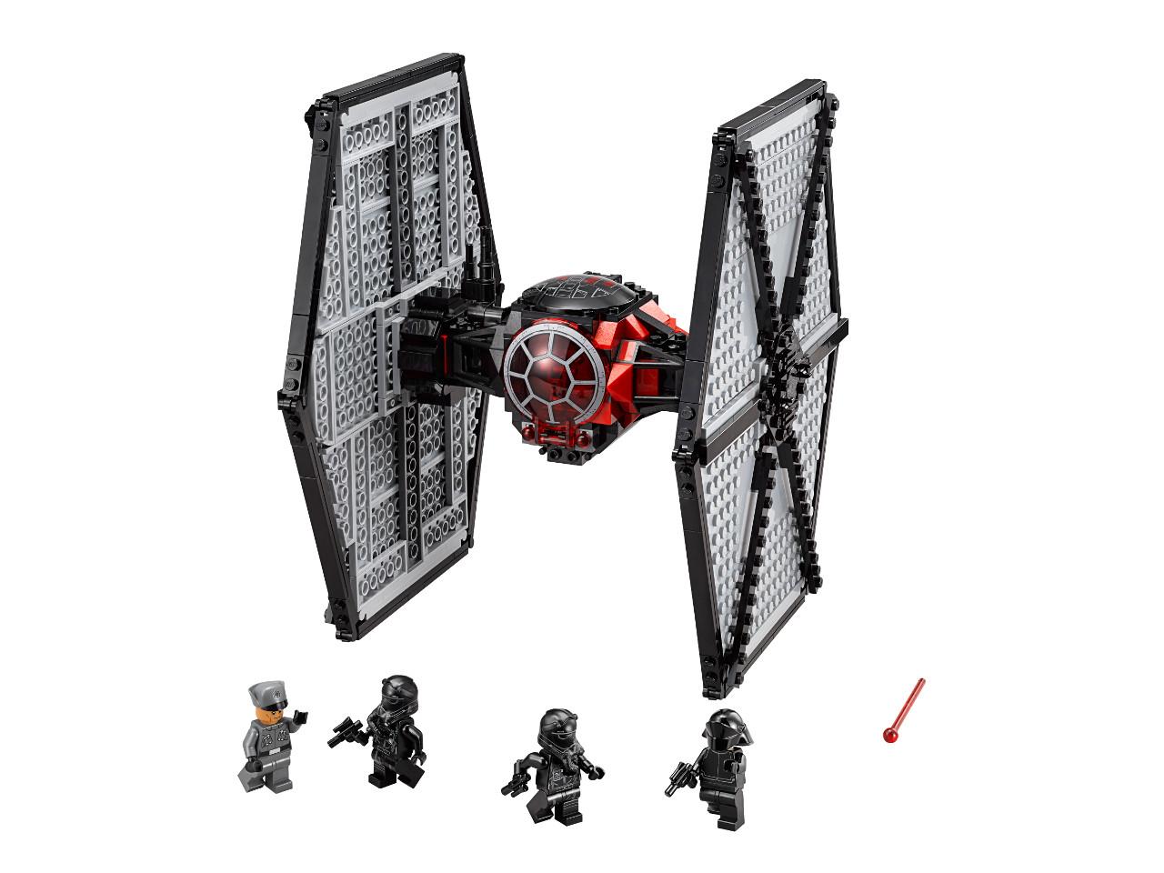 LEGO Star Wars 75101 First Order Special Forces TIE fighter (Stíhačka TIE speciálních jednotek Prvního řádu)